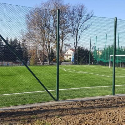An example of moduliq multilayered football field built for a small community near Rzeszow, Poland.