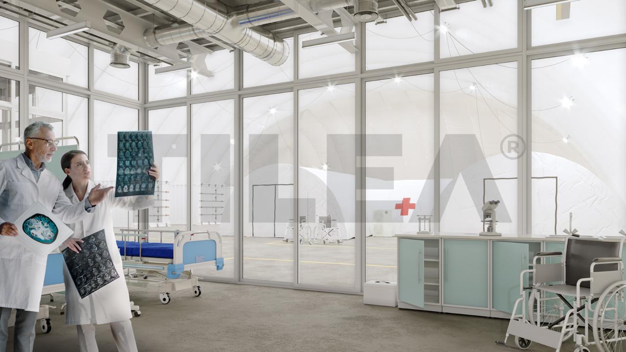 air dome hospital